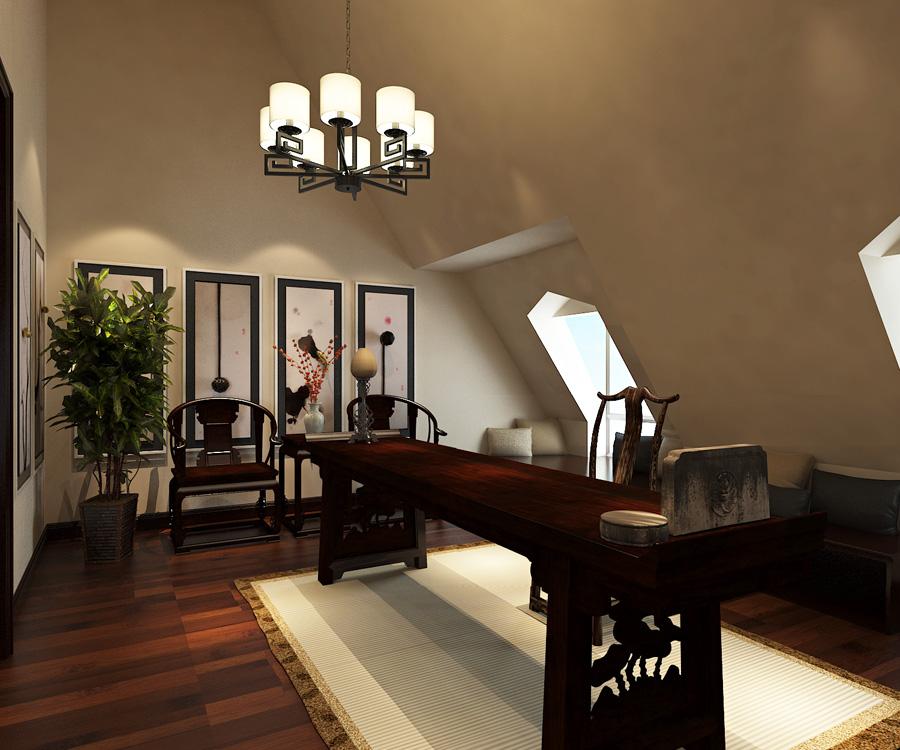 混搭 别墅 书房图片来自天津生活家健康整体家装在泰达河与海-贵族欧式设计效果图的分享