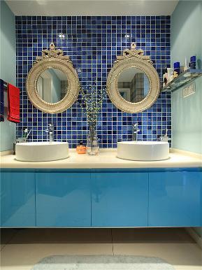 美式 三居 80后 小资 大户型 简美 白领 卫生间图片来自高度国际姚吉智在148平米清新简美三居简而不凡的分享