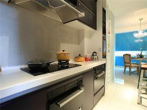 美式 三居 80后 小资 大户型 简美 白领 厨房图片来自高度国际姚吉智在148平米清新简美三居简而不凡的分享