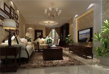 世华泊郡3居室休闲风格