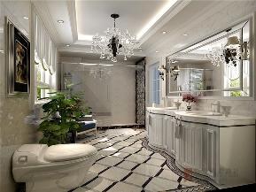 欧式 新古典 别墅 跃层 小资 高帅富 80后 卫生间图片来自高度国际姚吉智在300平米欧式新古典沉醉的奢华的分享