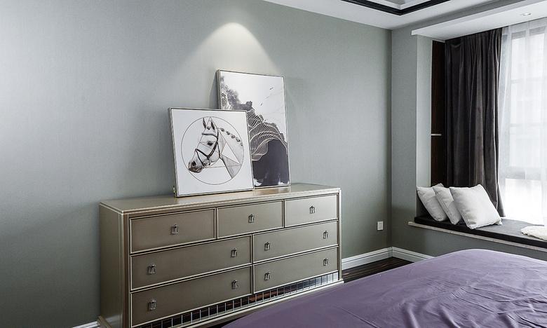 卧室图片来自家装大管家在幸福时光 145平新古典混搭轻奢居的分享