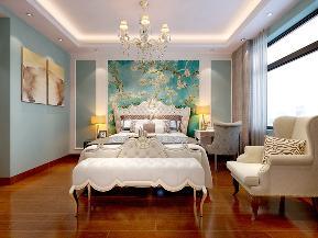 清新美式 随性 随意 舒适 收纳 小资 卧室图片来自广西品匠装饰集团在昌泰鑫金绿洲135平美式装修案例的分享