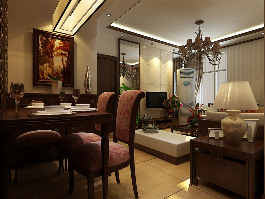 二居 餐厅图片来自天津生活家健康整体家装在东丽一号中式的分享