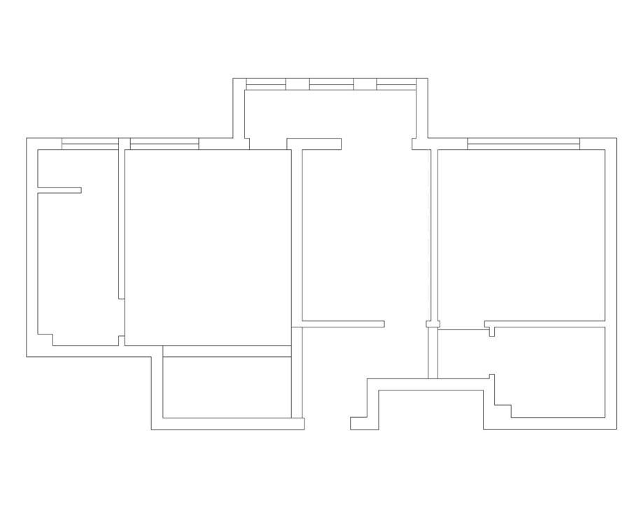 二居 户型图图片来自天津生活家健康整体家装在东丽一号中式的分享