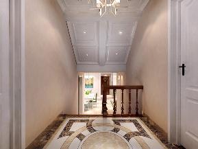 清新美式 随性 随意 舒适 收纳 小资 楼梯图片来自广西品匠装饰集团在昌泰鑫金绿洲135平美式装修案例的分享