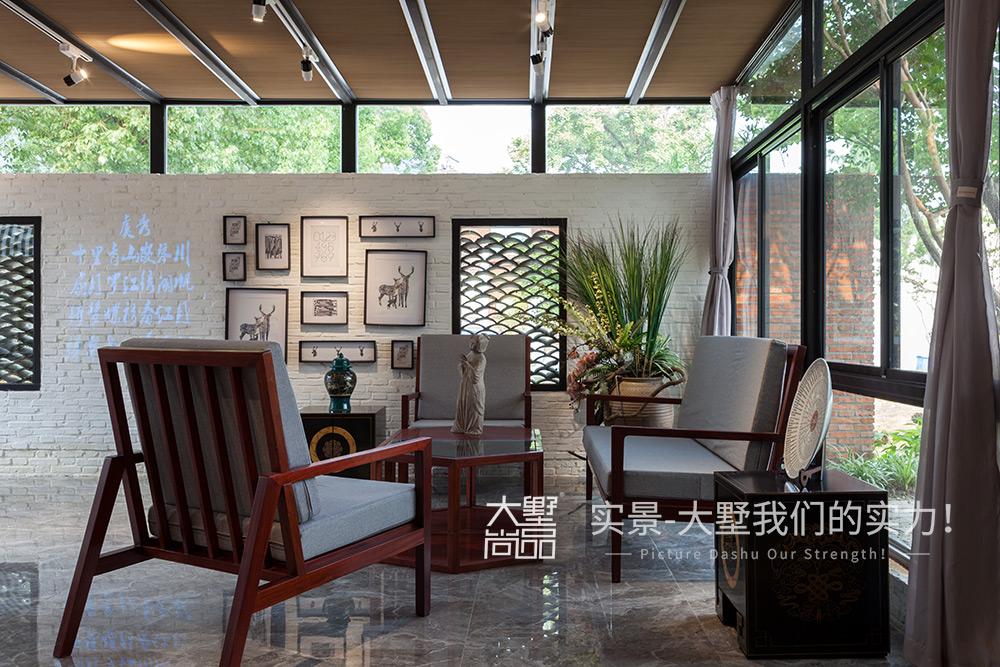 混搭 客厅图片来自大墅尚品-由伟壮设计在旗袍会所·清风徐来她自盛开的分享
