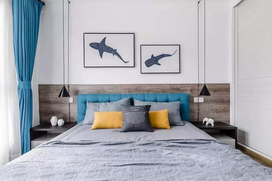 简约 白领 北欧风格 三居 卧室图片来自极装吉住装修在90㎡三室两厅,设计1㎡都不浪费~的分享