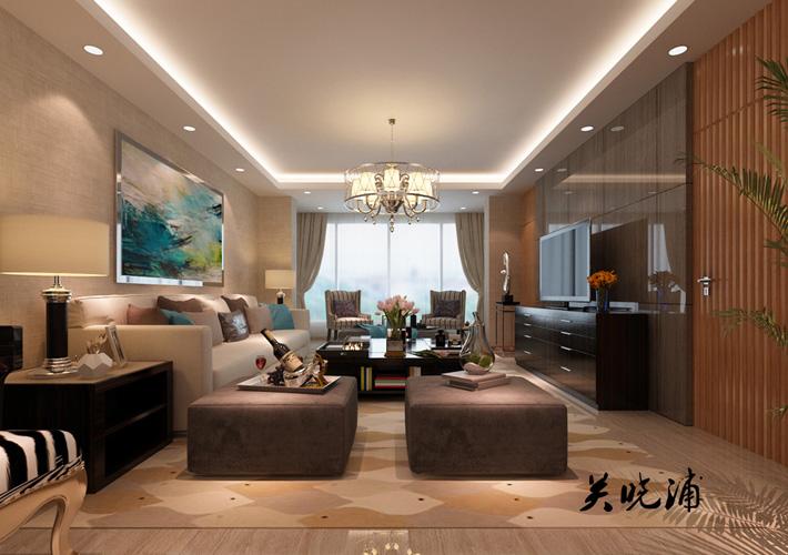 三居 地王国际 新中式风格 客厅图片来自百家设计小刘在地王国际117平新中式风格的分享