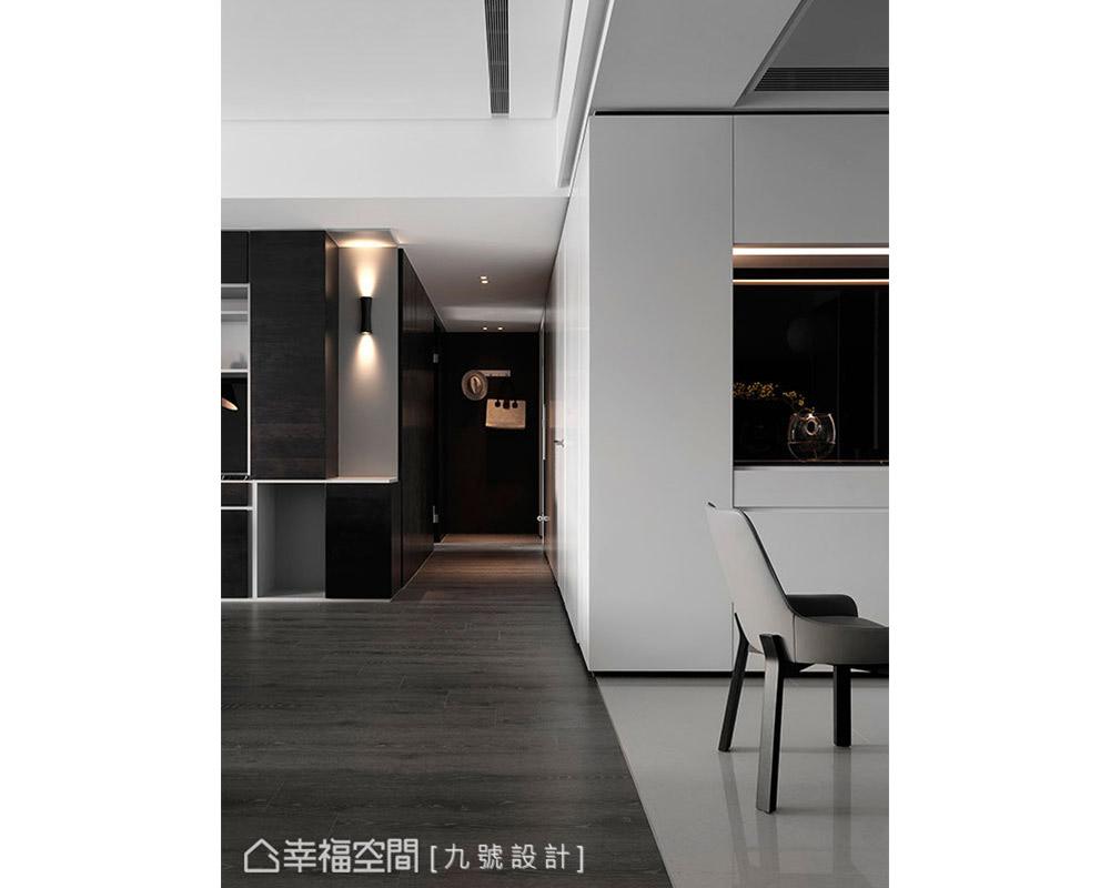 二居 现代 其他图片来自幸福空间在低彩度铺陈 175平简约个性宅的分享
