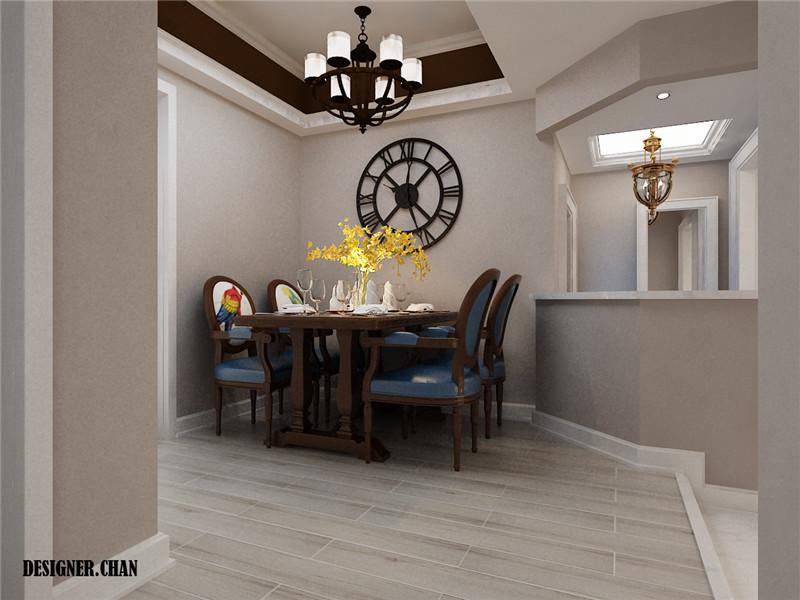 龙发装饰 二居 简美 莱茵春天 效果图 餐厅图片来自龙发装饰天津公司在莱茵春天二居简约美式风格的分享