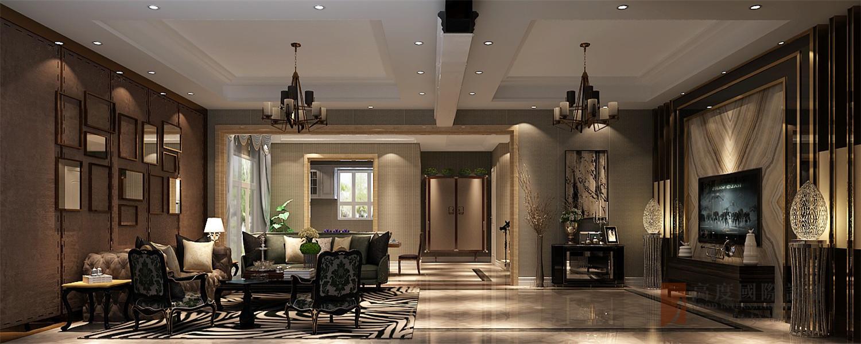 欧式 新古典 别墅 大户型 小资 高帅富 客厅图片来自高度国际姚吉智在260平米新古典极致的优雅华贵的分享