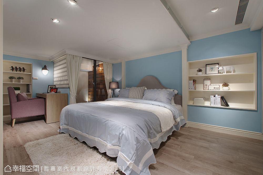 别墅 四居 旧房改造 卧室图片来自幸福空间在引光纳景 254平老别墅明亮重生的分享