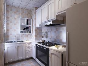 简约 美式 简美 二居 收纳 小资 厨房图片来自阳光力天装饰在力天装饰-雅仕阁-105㎡-简美的分享