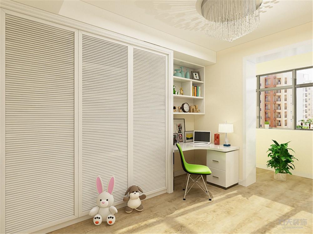北欧 欧式 二居 收纳 小资 卧室图片来自阳光力天装饰在力天装饰-美宁公寓-95㎡-北欧的分享