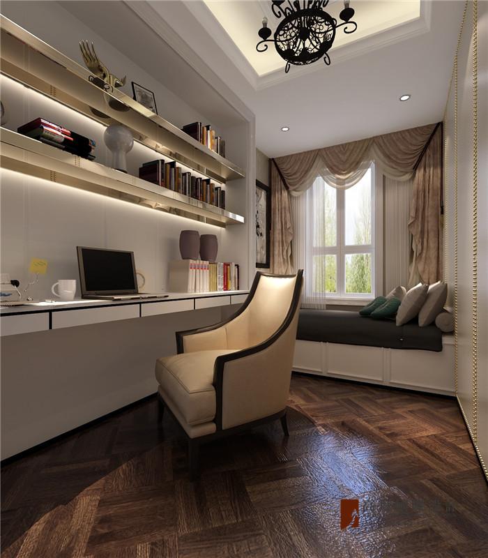 欧式 新古典 别墅 大户型 小资 高帅富 卧室图片来自高度国际姚吉智在260平米新古典极致的优雅华贵的分享