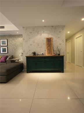 简约 现代 三居 大户型 80后 小资 白领 公寓 玄关图片来自高度国际姚吉智在140平米现代简约三居沉色黯香来的分享