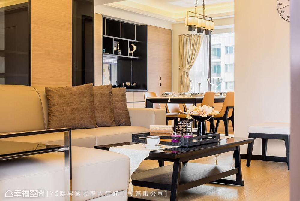 四居 现代 客厅图片来自幸福空间在贴合生活的设计132平暖心熟龄宅的分享