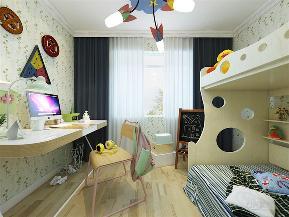 现代 简约 三居 收纳 小资 儿童房图片来自阳光力天装饰在力天装饰-云锦世家-132㎡-简约的分享