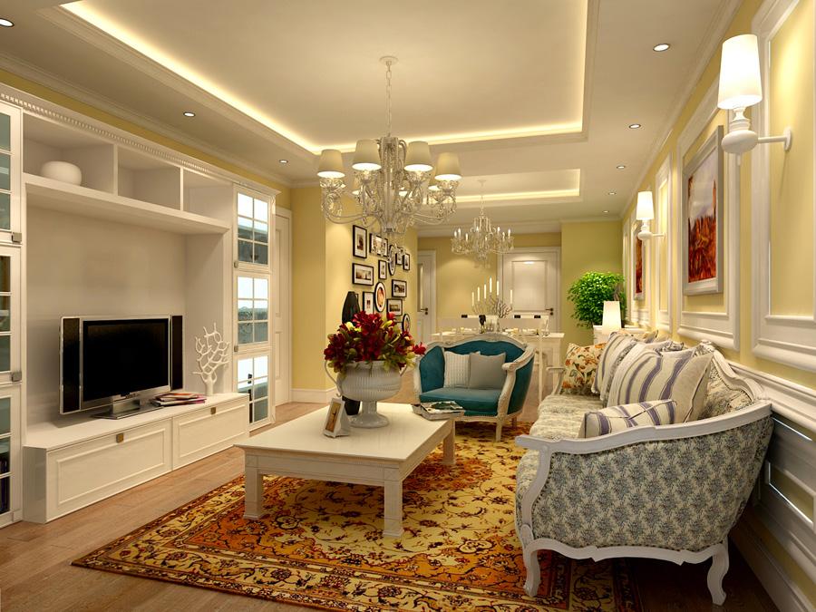 欧式 客厅图片来自天津生活家健康整体家装在融科瀚棠简欧的分享