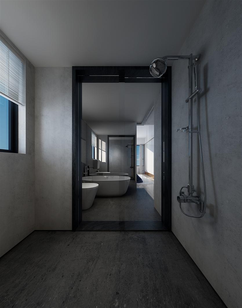三居 白领 小资 80后 简约 卫生间图片来自鸿扬家装武汉分公司在电建地产盛世江城之北欧之光的分享