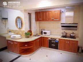 80后 白领 小资 美式 实景图 厨房图片来自广西品匠装饰集团在鼎华福邸73平美式风格实景案例的分享