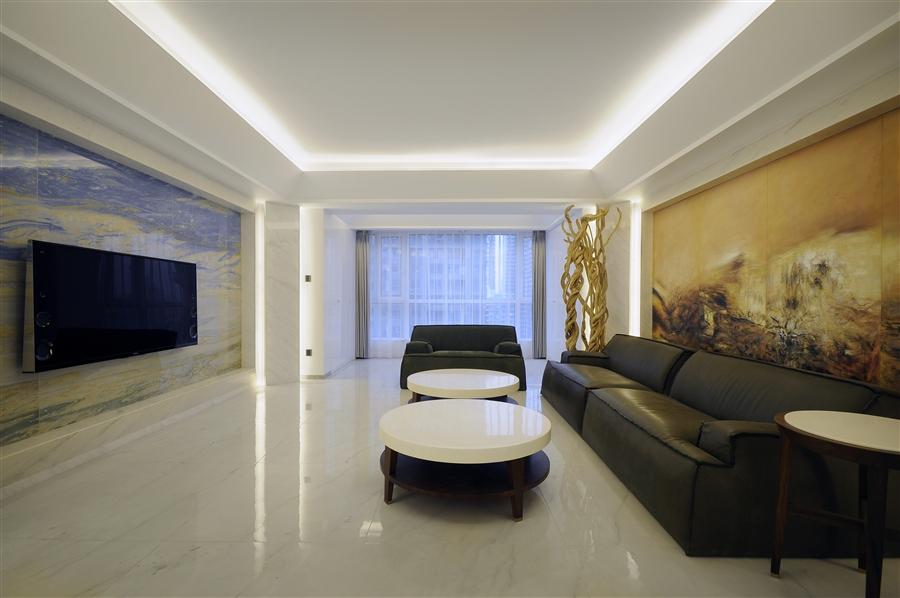 客厅图片来自鸿扬家装武汉分公司在电建地产盛世江城-鸿扬家装的分享