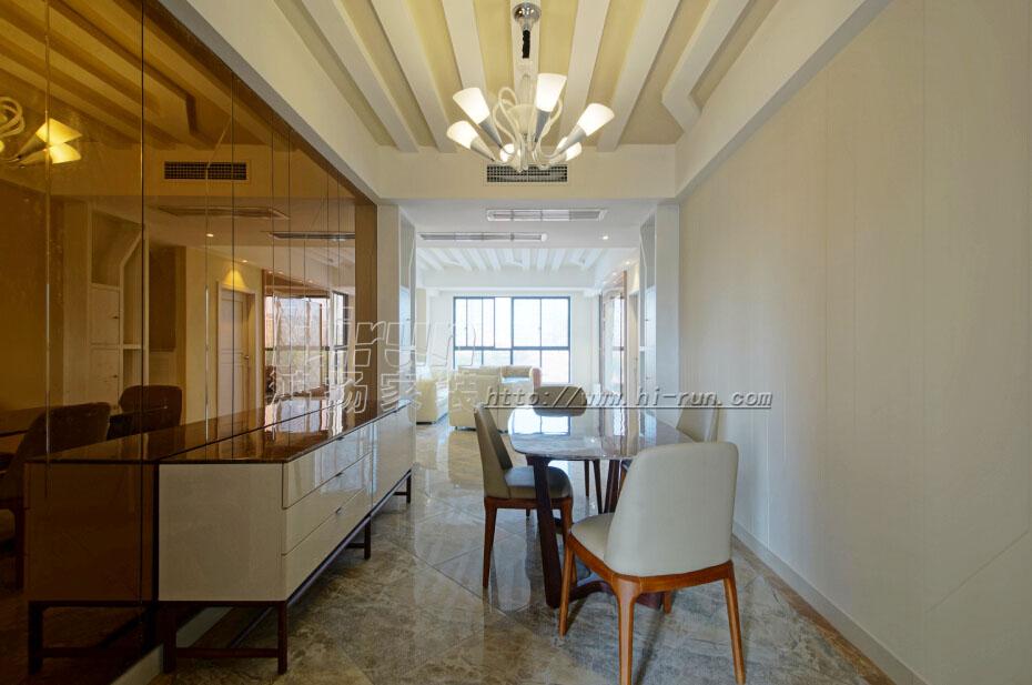 餐厅图片来自鸿扬家装武汉分公司在美联城仕二期112-鸿扬家装的分享