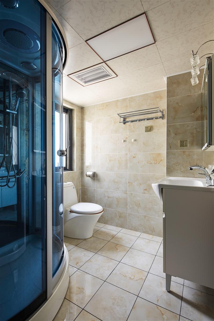 卫生间图片来自鸿扬家装武汉分公司在美联城仕二期-鸿扬家装的分享