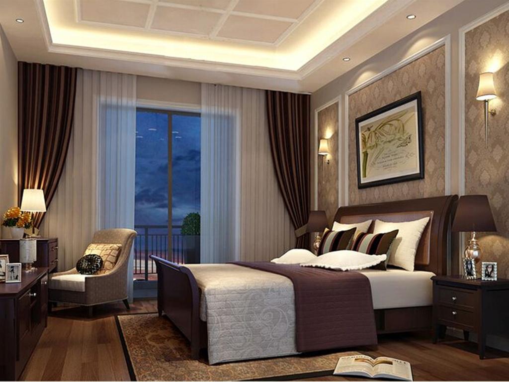 别墅 美式 卧室图片来自tjsczs88在美轮美奂美式家的分享