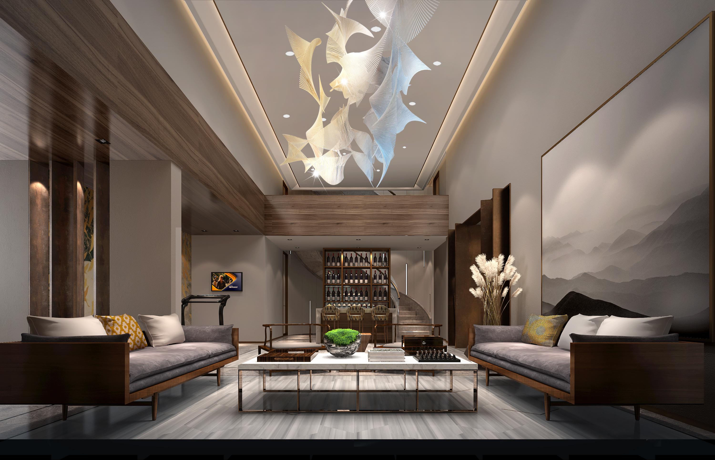 客厅图片来自新浪家居江西站在温馨的别墅的分享
