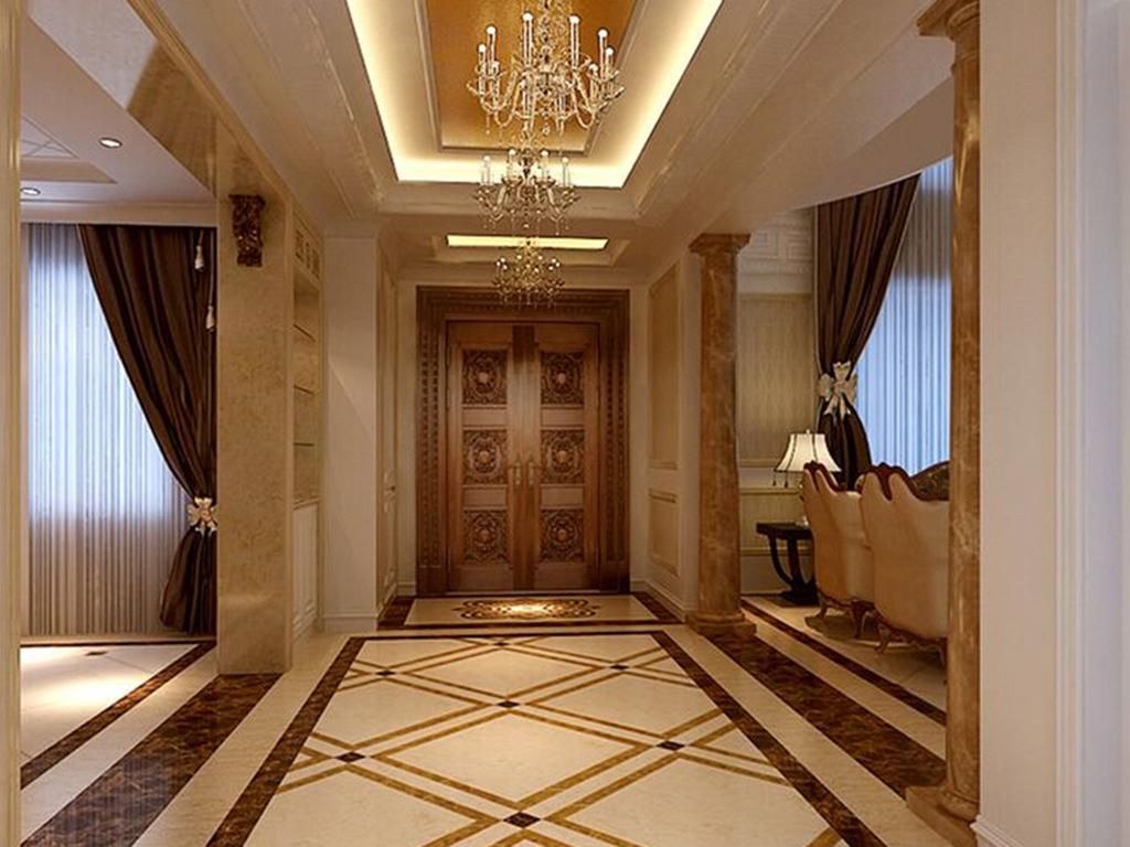 别墅 美式 玄关图片来自tjsczs88在美轮美奂美式家的分享