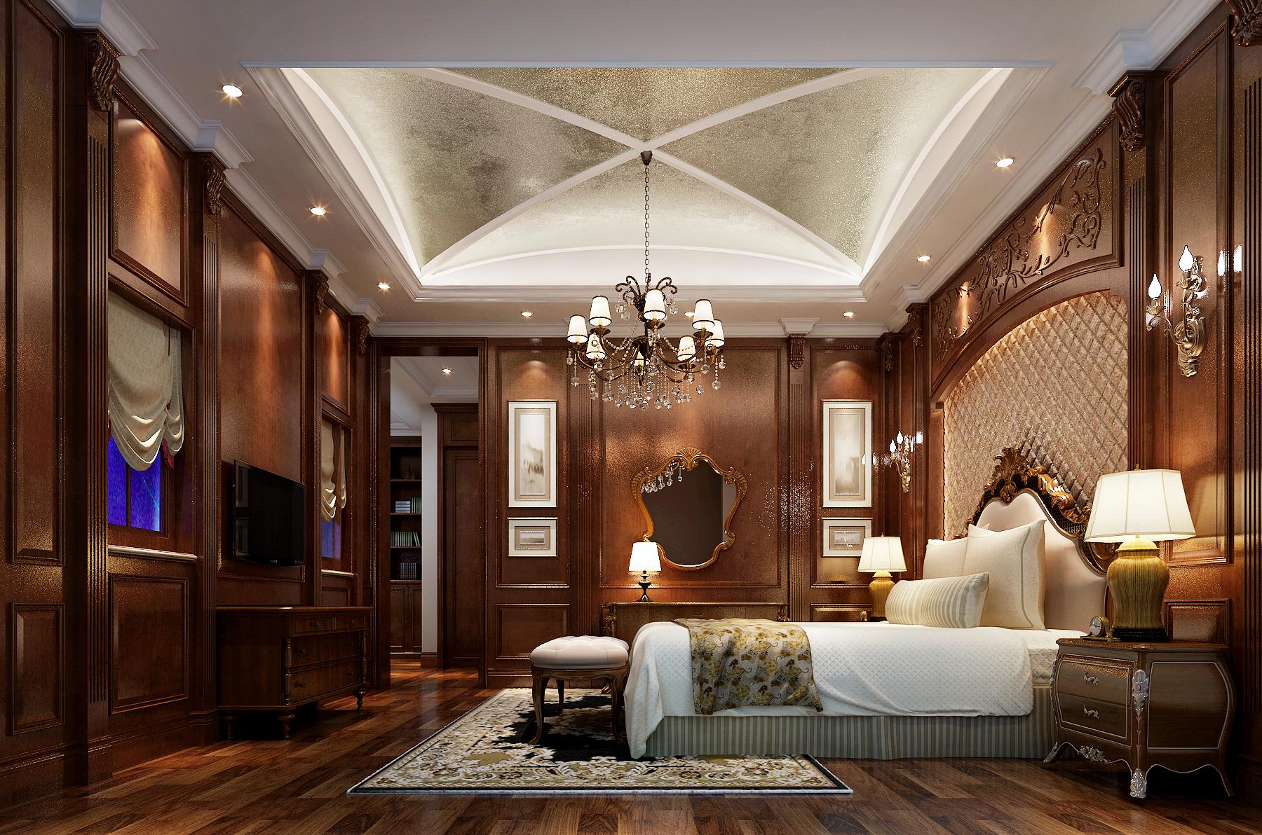 美式风格 凡尔赛宫 卧室图片来自新浪家居江西站在凡尔赛宫的分享