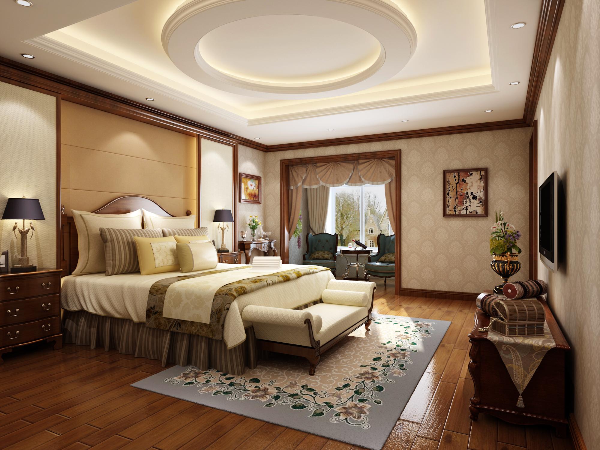 卧室图片来自圣奇凯尚室内设计工作室在芳华世桥.龙湖好望山的分享