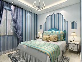 地中海 二居 收纳 小资 卧室图片来自阳光力天装饰在力天装饰- 绅湖公馆-93㎡-地中海的分享