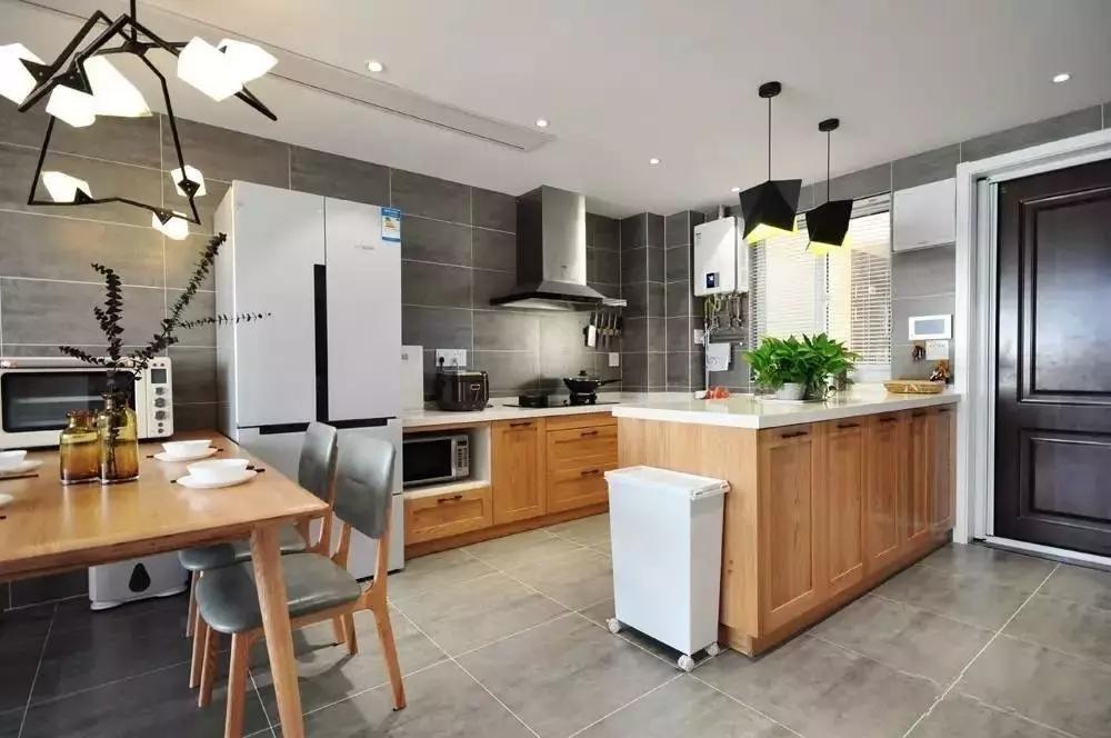 简约 北欧风格 二居 旧房改造 厨房图片来自极装吉住装修在85㎡美酷小空间,地板上墙还上天的分享
