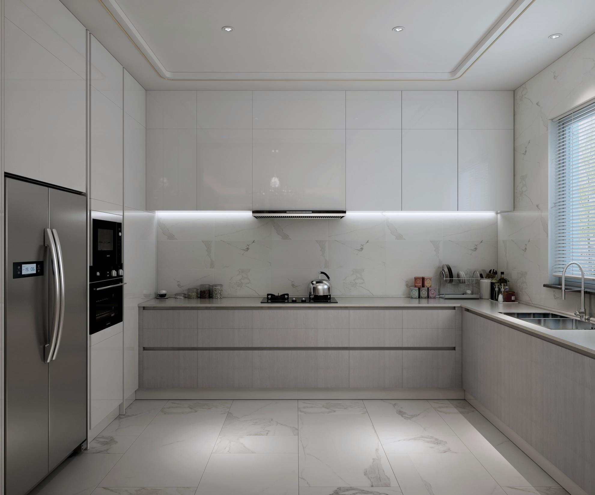 三居 旧房改造 80后 小资 简约 厨房图片来自观巢国际实景家装在Essence  雅颂--极致奢华为雅的分享