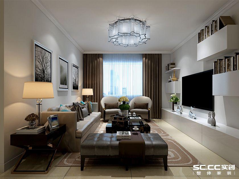 二居 简约 实创 米罗湾 客厅图片来自快乐彩在米罗湾84平二居室现代简约的分享
