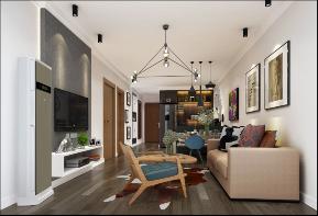 现代 简约 温馨 客厅图片来自圣奇凯尚室内设计工作室在圣奇凯尚装饰-国风美唐后现代的分享