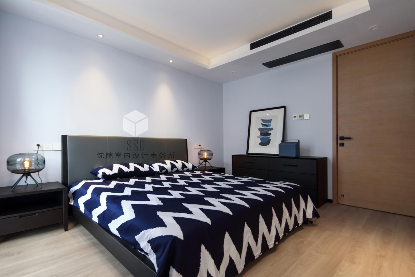 简约 别墅 卧室图片来自沈院在净▪静的分享