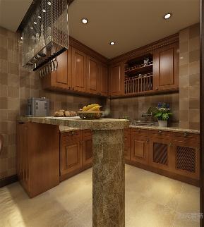 美式 简约 简美 三居 收纳 小资 厨房图片来自阳光力天装饰在力天装饰-清秀园-137㎡-美式的分享
