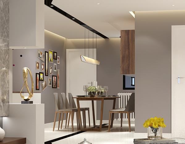简约 混搭 白领 收纳 80后 小资 餐厅图片来自林上淮·圣奇凯尚装饰在宽HOUSE-巜简·容》的分享