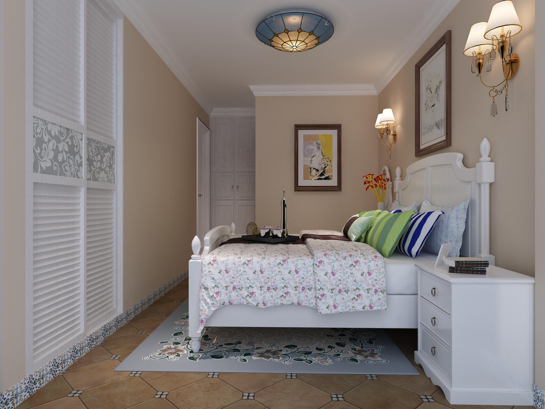 白领 80后 小资 地中海 二居 卧室图片来自东大家居设计在地中海三室一厅的分享