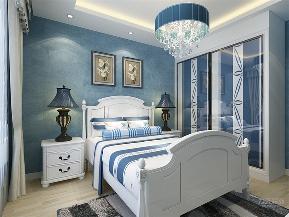 地中海 三居 收纳 小资 卧室图片来自阳光力天装饰在力天装饰-远洋城-104.78㎡-的分享