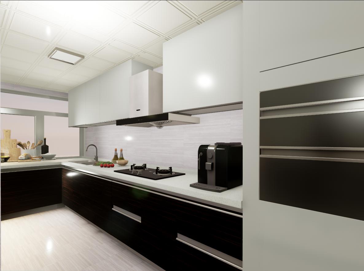 厨房图片来自湖北省大唐安盛建筑工程有限公司在顶秀西北湖的分享