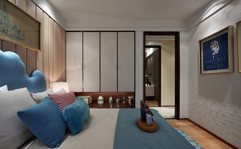 卧室图片来自家装大管家在17万造89平清新北欧家 不妨一看的分享