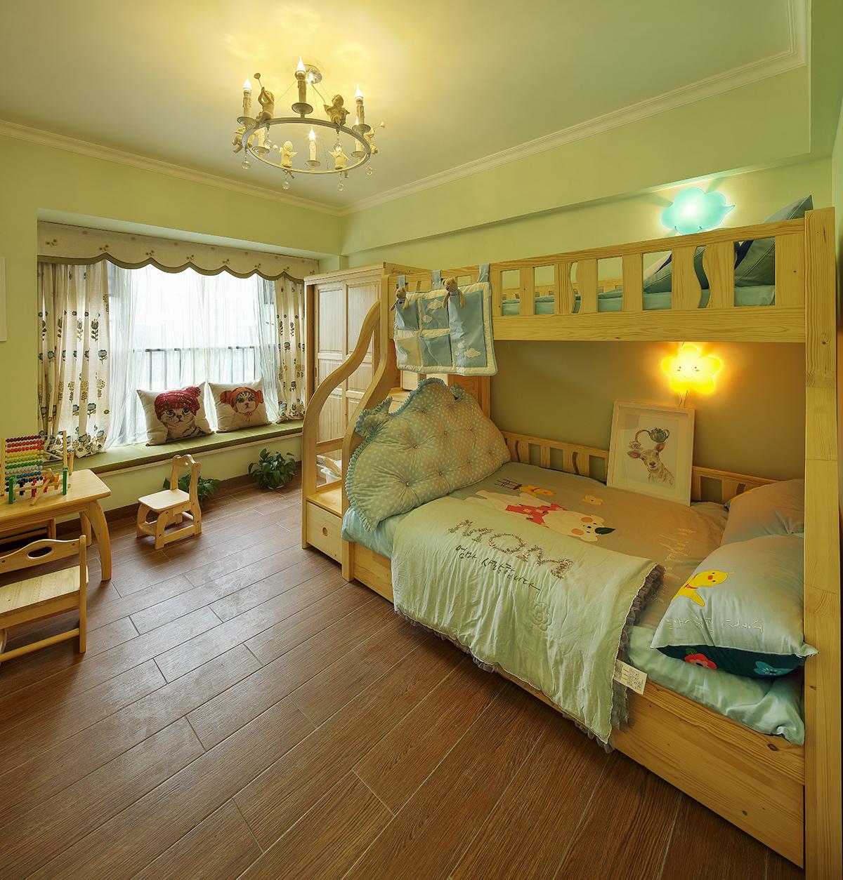 简欧风格 儿童房图片来自设计师胡狸在一念浅喜,一念深爱的分享