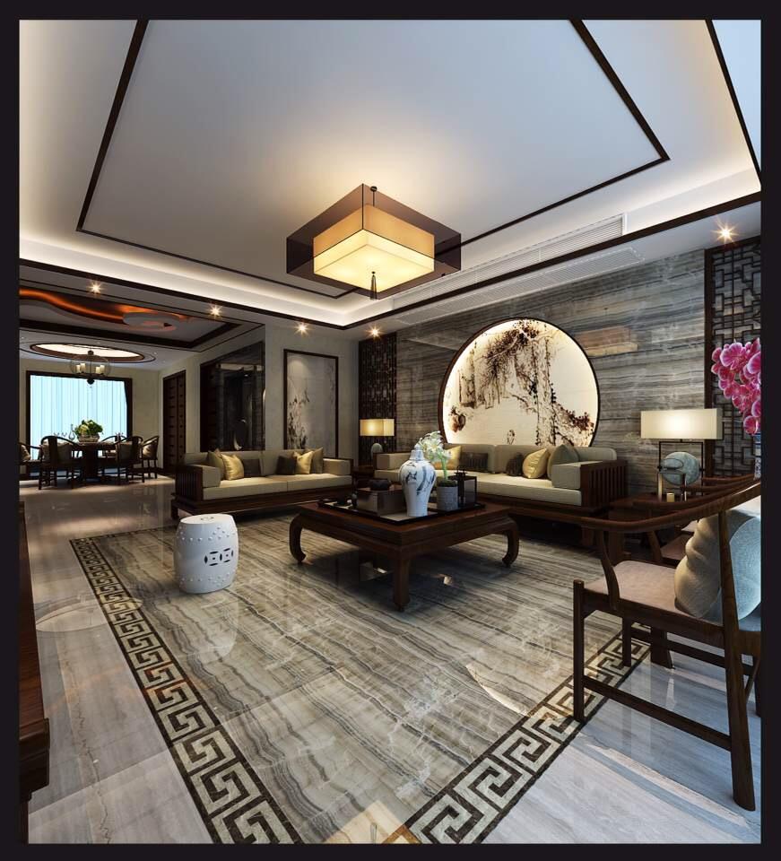 中式 旧房改造 80后 小资 收纳 白领 客厅图片来自也儿在龙湖长楹天街的分享