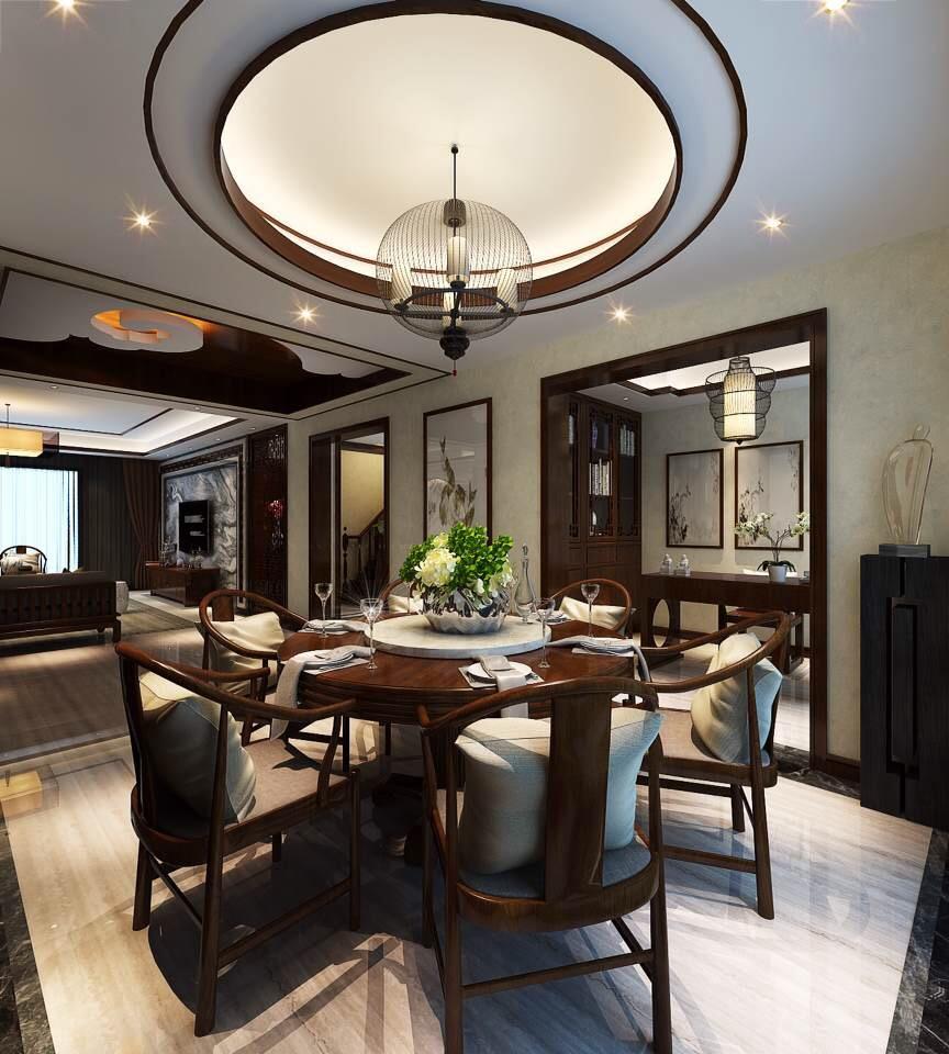 中式 旧房改造 80后 小资 收纳 白领 餐厅图片来自也儿在龙湖长楹天街的分享