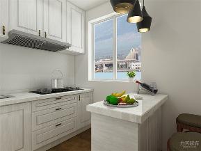 中式 新中式 二居 收纳 小资 厨房图片来自阳光力天装饰在力天装饰- 中裕园-30㎡-中式的分享
